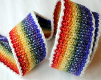 Celtic Handfasting Cord - Rainbow Colours
