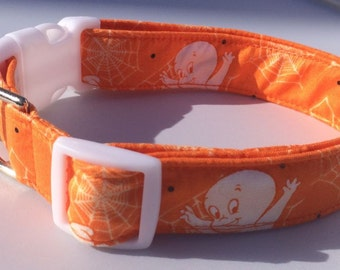 Casper the Friendly Ghost Halloween Dog Collar