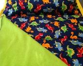 Dinosaur nap mat