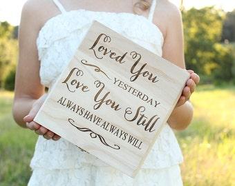 Rustic Love Letter Keepsake Box Bridal Shower Gift Wedding Gift Love Letter Box Wood Keepsake Box Gift Box
