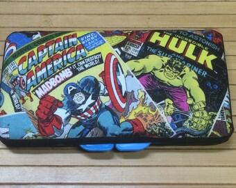 Marvel Comics Baby Boy Girl Wipe Case Super Heroes Hero Iron Man Wolverine