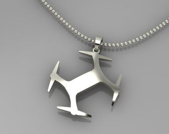3DR Solo Sterling Silver Pendent