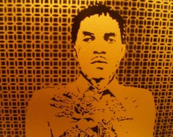 Vybz Kartel (gold design)