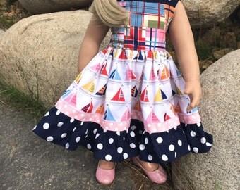 Nantucket Sailboat Dress