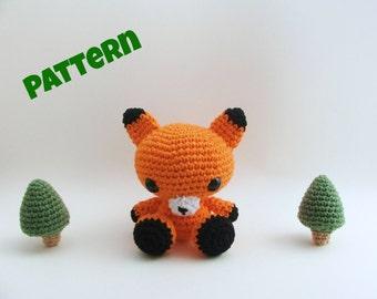 Crochet Fox Pattern / Halloween Pattern / Halloween Decor / Fox Pattern / Crochet Pattern / Kids Pattern / Amigurumi Pattern / Toy Pattern