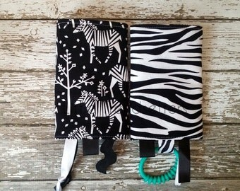Incognito Zebra Drool Pads