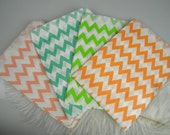 Clearance SALE 24 Candy Bags Chevron Zig Zag Stripe / Pick Your colors / Candy Buffet Bar Bags / Cookie bags / Party Favor Bags