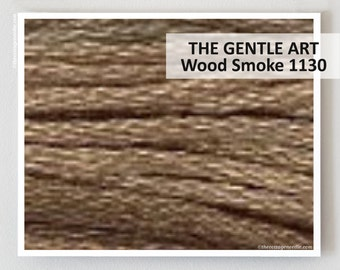 WOOD SMOKE 1130 : Gentle Art    GAST hand-dyed embroidery floss cross stitch thread at thecottageneedle.com