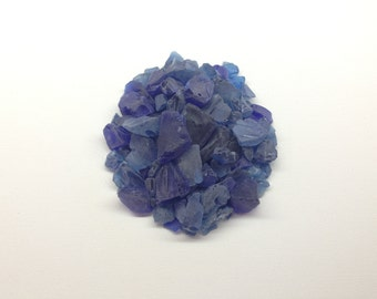 One Pound of Solid Color Navy Blue Beach/Sea Glass - Craft Ready - Wedding Decor - Wedding Beach Glass -  Spring Craft Beach Glass