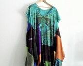 Romantic Boho Dress. Holiday Sale. Ethical Fashion