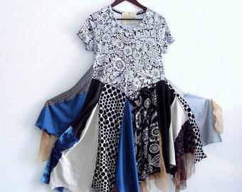 Bohemian Woodland Maxi Dress Small, Medium,Large / Ethical Fashion