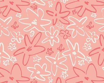 Happy Home Forget Me Not in Romance, Caroline Hulse, Art Gallery Fabrics, 100% Premium Cotton Fabric, HAH-24402