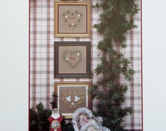 Judy Whitman MERRY HEARTS ii 2 By JBW Designs (Multiple Designs) - Counted Cross Stitch Pattern Chart