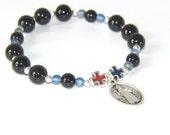 Saint Benedict Prayer Bracelet, a Chaplet for the Wrist