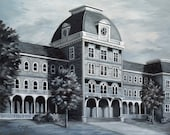 Fine Art Print- Halls of Ivy, Historic Judson College, Marion, Alabama