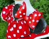 Minnie Inspired Glitter Vinyl Ears