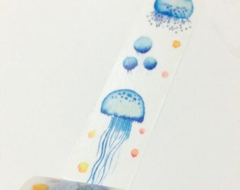 Jellyfish Washi tape (25mm X 7M)