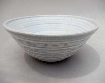 White Pottery Bowl