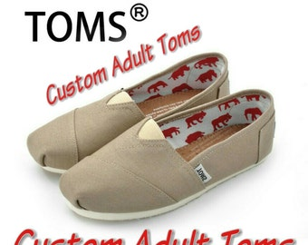 Custom Adult Toms. price includes shoes