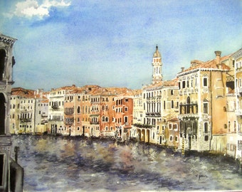 Listing for Karen The Grand Canal, Venice Italy 11x14
