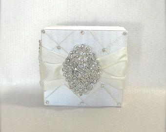 Diamond Gift Box, Box, Boxes, Bridal Shower,  Valentines, Birthday, Wedding Favor Box, Gift Idea, Wedding Party, Elegantly Pre-wrapped