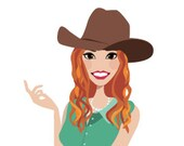 Clip Art Illustration Avatar Logo Character Design for your Blog Business Graphic Design or Web Design Needs