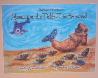 Mosum and The Tickle-Tum Seaweed - The Merbear Adventures - by Verity Roennfeldt