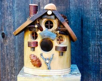 Heart of the Elm Birdhouse