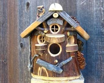 Rustic Maple Birdhouse #9