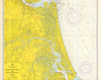 Newburyport Harbor & Plum Island Sound – 1968