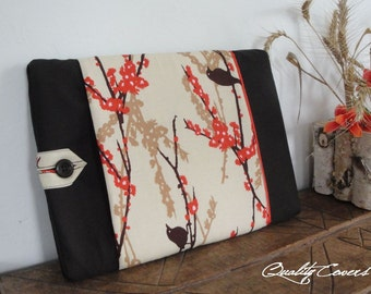 iPad and Laptop Customizable for Color Fabric and Size - Sleeve - Cover- Case - Fully PADDED - exterior POCKET - WATERPROOF lining