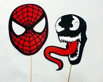 Venom Spiderman Etsy