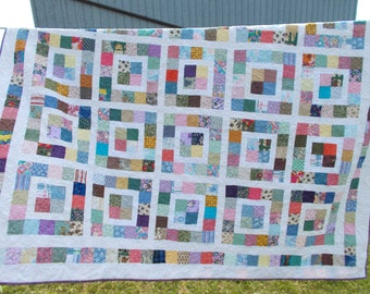 Summer Pastel Quilt - free shipping in North America.