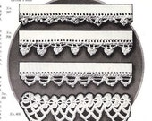Vintage 1925 Crochet lace pattern PDF Instant Download