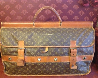 Vintage (pre-1980s) Louis Vuitton Duffel Bag/Travel Bag