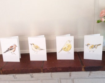 SALE - Finches Bird Note Let Cards