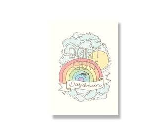 Daydream Mini Print / Postcard