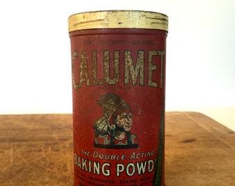 Vintage mustard Tin