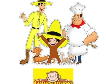 Curious George Centerpiece PRINTABLE