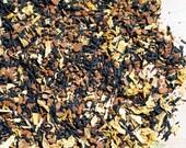 Rise n' Shine Tea - Hand Crafted Organic Caffeinated Tea Blend Made with Assam Black Tea, Cinnamon Bark, Lemon Peel, and Sunflower Petals