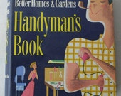 vintage book, Handyman's Book from Better Homes & Gardens, 1957,  from Diz Has Neat Stuff 3
