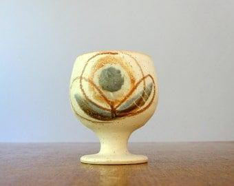 Vintage Bennett Welsh Studio Pottery Goblet