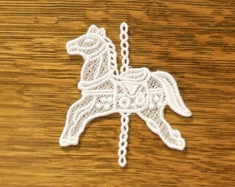 Lace Carousel Horse