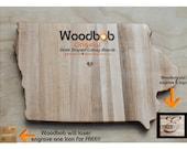 16'' IOWA personalized cutting board cutting boards wood best cutting board wooden cutting board cutting board personalized engraved gifts