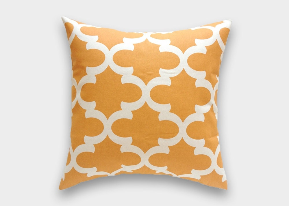 Throw Pillows In Clearance : CLEARANCE 70% OFF Orange Moroccan Throw Pillow Cover. 18 X 18