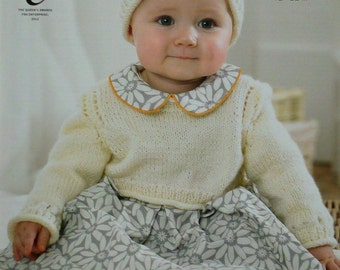 4d2f26befe44 Baby Knitting Pattern K3319 Babies Long Sleeve Jumper