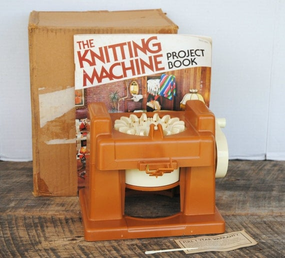 Vintage Knitting Machine : Vintage knitting machine by mattel with