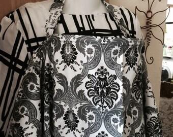 Breastfeeding nursing cover up apron like  HOOTER hiders  new damadk elegant