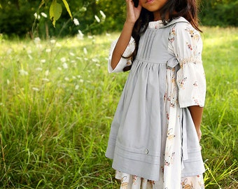 Rosemary Pinafore & Slip PDF Sewing Pattern, Sizes 12 months- 10 years, NEW, All Sizes Included