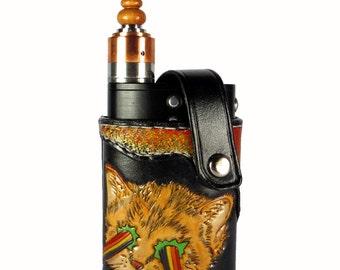 Rainbow Laser Kitty Vape Shield E-Cig holster